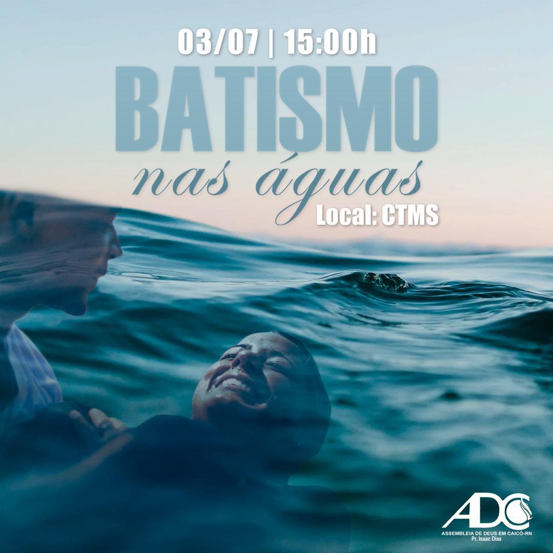 Imagem Batismo em Águas